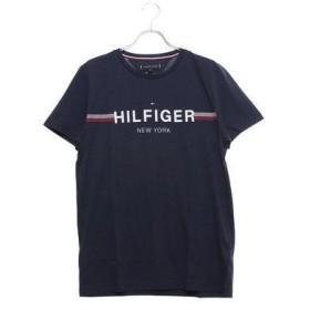 トミーヒルフィガー TOMMY HILFIGER 【オンライン限定カラーあり】ロゴTシャツ (ネイビー)