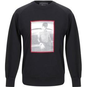 《期間限定セール開催中!》OBVIOUS BASIC メンズ スウェットシャツ ブラック S コットン 100%