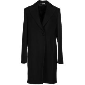 《期間限定セール開催中!》TONELLO レディース コート ブラック 46 バージンウール 65% / ナイロン 25% / カシミヤ 5% / 指定外繊維 5%