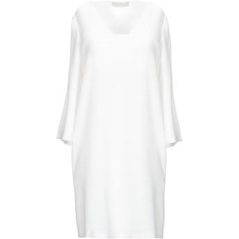 《セール開催中》L' AUTRE CHOSE レディース ミニワンピース&ドレス ホワイト 40 ポリエステル 100%