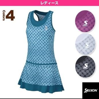 スリクソン テニス・バドミントンウェア(レディース) ワンピース/レディース(SDP-1660W)テニスウェア女性用
