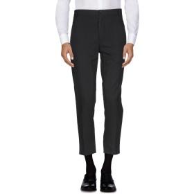 《セール開催中》DANIELE ALESSANDRINI メンズ パンツ ブラック 46 コットン 40% / ポリエステル 29% / アクリル 16% / ウール 9% / 指定外繊維 6%
