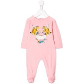 Gucci Kids プリントパネル ベビーウェア - ピンク