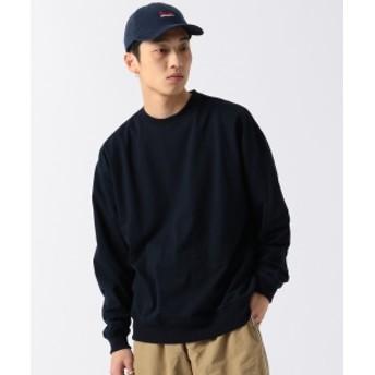 BEAMS / クルーネック スウェットシャツ メンズ スウェット NAVY M