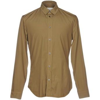 《セール開催中》MAISON MARGIELA メンズ シャツ ミリタリーグリーン 40 コットン 100%
