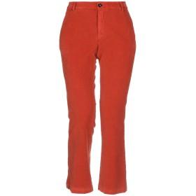 《セール開催中》TRUE NYC レディース パンツ 赤茶色 26 コットン 98% / ポリウレタン 2%