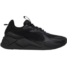 《セール開催中》PUMA メンズ スニーカー&テニスシューズ(ローカット) ブラック 6 紡績繊維 RS-X CORE