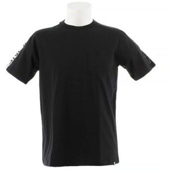 SESSIONS LINE POCKET 半袖Tシャツ 197059 BLK (Men's)