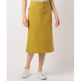 【SHARE PARK LADIES:スカート】【DAILY MORE掲載】ベイカーミディアム丈 スカート