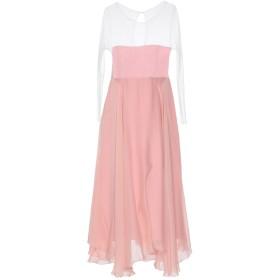 《セール開催中》ALEX VIDAL レディース ロングワンピース&ドレス ピンク 42 ナイロン 100% / シルク