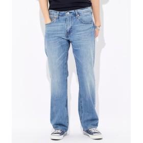Levi's 「569 COOL」ルーズストレートデニムパンツ メンズ 中濃加工色
