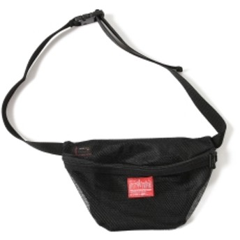 BEAMS Manhattan Portage × BEAMS / 別注 1103 Mesh Waist Pouch メンズ ウエストバッグ BLACK ONE SIZE