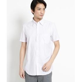 THE SHOP TK(Men)(ザ ショップ ティーケー(メンズ)) 【抗菌・防臭】ポリジン市松ドビー半袖シャツ