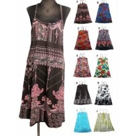 エスニックキャミワンピース エスニック衣料 エスニックアジアンファッション