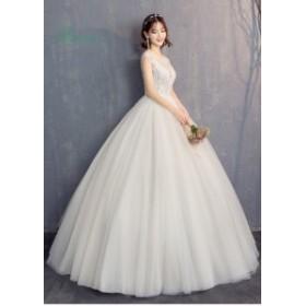 ウェディングドレス 花嫁 ウエディングドレス 白 安い ブライダル wedding dress 結婚式 プリンセスラインドレス 二次会 パーティード