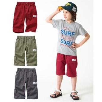 6分丈ツイルパンツ3枚組(男の子 子供服。ジュニア服) パンツ