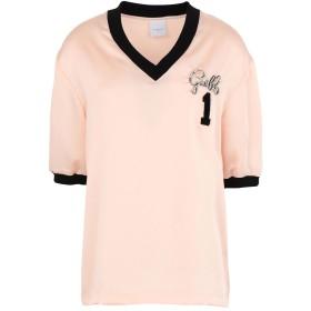《期間限定セール中》GALLE Paris レディース T シャツ ライトピンク 0 ポリエステル 97% / ポリウレタン 3% / コットン