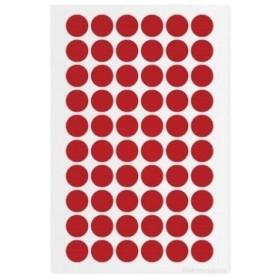 アズワン クライオドット Φ13mmタイプ 赤 60ドット×7シート入 [3-8719-13]