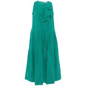 《期間限定セール開催中!》ROSE' A POIS レディース 7分丈ワンピース・ドレス グリーン 42 コットン 97% / ポリウレタン 3%
