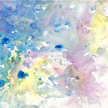 《原画》ハートエナジーアートNo.166 アトランティスの海