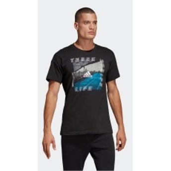 M ID フォトグラフィック Tシャツ