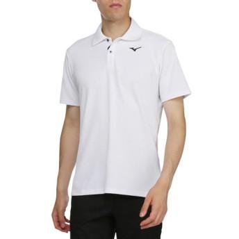 MIZUNO SHOP [ミズノ公式オンラインショップ] ドライエアロフロー半袖シャツ(ポロ衿)[メンズ] 01 ホワイト 52MA9005