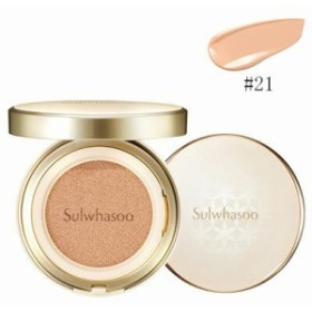 Sulwhasoo 雪花秀 ソルファス パーフェクティング クッション EX 21号 NATURAL(PINK) SPF50+/PA+++ 30g 韓国コスメ