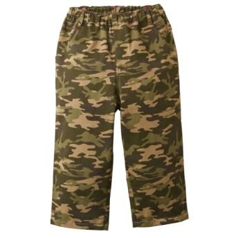 迷彩柄ストレッチハーフパンツ(男の子 子供服。ジュニア服) パンツ