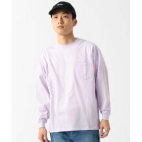 BEAMS / シルケット ルーズ Tシャツ メンズ Tシャツ LAVENDER M