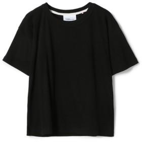 MAISON CORNICHON / FIT CLASSIC カットソー《ESTNATION EXCLUSIVE》 ブラック/0(エストネーション)◆レディース Tシャツ/カットソー