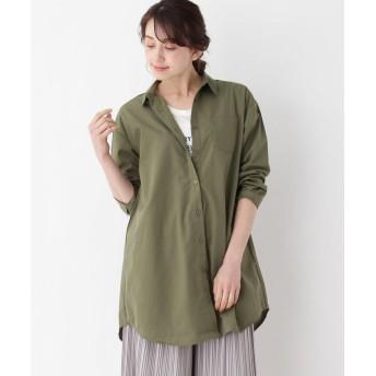 シャツ - Cutie Blonde 【2点セット】ロングシャツ+ロゴTシャツ