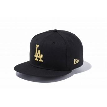 ニューエラ(NEW ERA) 9FIFTY ロサンゼルス・ドジャース ブラック × ゴールド 11308480