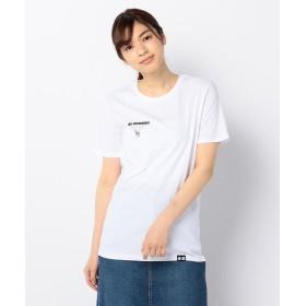 【44%OFF】 フレディアンドグロスター StreetwearプリントTシャツ レディース ホワイト系5 S 【FREDY & GLOSTER】 【タイムセール開催中】