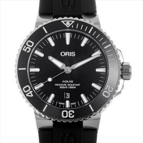 48回払いまで無金利 オリス アクイス デイト 733 7730 4134R 新品 メンズ 腕時計