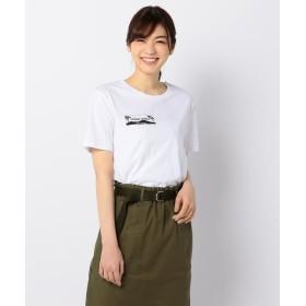 【44%OFF】 フレディアンドグロスター StreetwearプリントTシャツ レディース ホワイト系4 S 【FREDY & GLOSTER】 【タイムセール開催中】