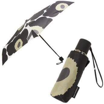 マリメッコ 傘 MARIMEKKO レディース 038654 030 ピエニ ウニッコ PIENI UNIKKO MINI MANUAL 折り畳み傘 WHITE/BLACK