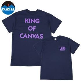 カブー KAVU メンズ キングオブキャンバス Tシャツ ネイビー