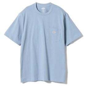 fennica <MEN>DANTON / ワンポイント 胸ポケットTシャツ メンズ Tシャツ BLUE 40