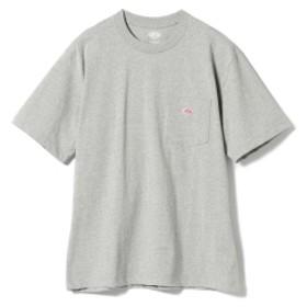fennica <MEN>DANTON / ワンポイント 胸ポケットTシャツ メンズ Tシャツ GREY 42