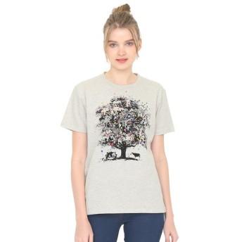 [マルイ] 【ユニセックス】ベーシックTシャツ/バルーンアンドアニマルツリー/グラニフ(graniph)
