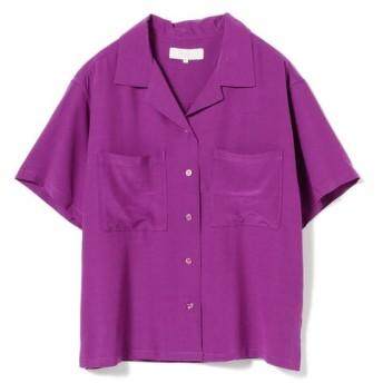 [マルイ]【セール】【カタログ掲載】B:MING by BEAMS / レーヨンオープンカラーシャツ/ビーミングライフストア(レディース)(Bming lifestore W)