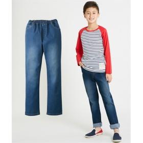 ストレッチデニムストレートパンツ(男の子。女の子 子供服。ジュニア服) パンツ