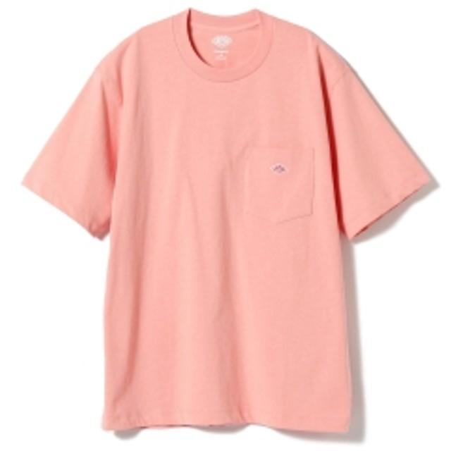 fennica <MEN>DANTON / ワンポイント 胸ポケットTシャツ メンズ Tシャツ PINK 42
