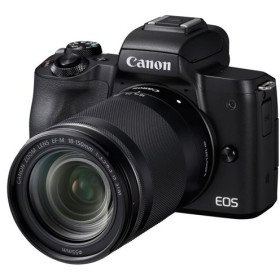 Canon EOS Kiss M EF-M18-150 IS STM レンズキット [ブラック]【お取り寄せ(10日〜2週間半程度)での入荷、発送】(2100000012695)
