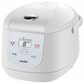 COMFEE' カンフィー 炊飯器 炊飯ジャー 3.5合 一人用 二人用 保温・予約機能 白米 玄米 発芽玄米 おかゆ 炊き分け