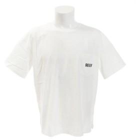 リーフ(REEF) 【オンライン特価】BLOCK BIG 半袖Tシャツ RF19SP-1005SS-WHI (Men's)