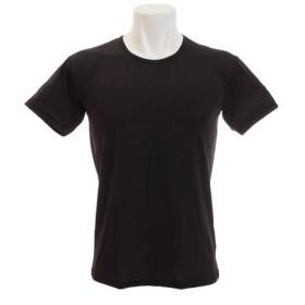 PGAC(PGAC) ドライプラスクール 半袖クルーシャツ 891PA9RK1502BLK (Men's)