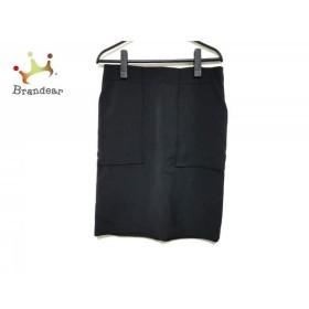 マーレンダム MARLENEDAM スカート サイズ40 M レディース 美品 黒   スペシャル特価 20190619【人気】