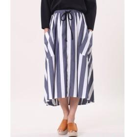 INED / 《Maison de Beige》ストライプフレアスカート