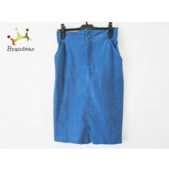 オープニングセレモニー OPENING CEREMONY スカート サイズ8 M レディース ブルー スペシャル特価 20190726